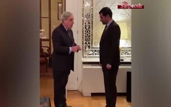 فیلم/ شهاب حسینی نشان شوالیه دریافت کرد