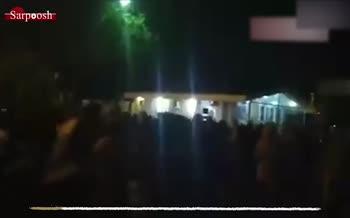فیلم/ تجمع اعتراضی دانشجویان برای تعطیلی دانشگاهها