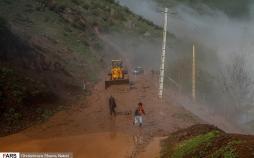 تصاویر رانش زمین در مازندران,عکس های حوادث طبیعی در مازندان,تصاویر حوادث در مازندران