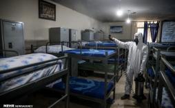 تصاویر پیشگیری از ویروس کرونا,عکس های پایگاه ارتش,تصاویر پیشگیری از کرونا در پایگاه ارتش