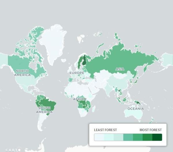 نقشههای متفاوتی از جهان,اخبار جالب,خبرهای جالب,خواندنی ها و دیدنی ها