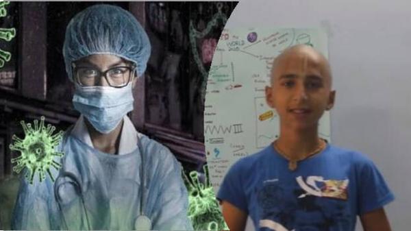 نوستراداموس هندی و پیشبینی کرونا، یک سال پیش در یوتیوپ