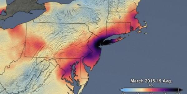 آلودگی هوا در آمریکا,اخبار اجتماعی,خبرهای اجتماعی,محیط زیست