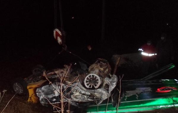 واژگونی مرگبار خودرو در جاده آستارا تالش,اخبار حوادث,خبرهای حوادث,حوادث