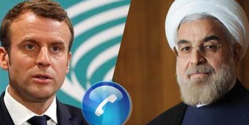 روحانی در تماس با مکرون: تحریمهای آمریکا علیه ایران نقض مقررات بهداشت جهانی است