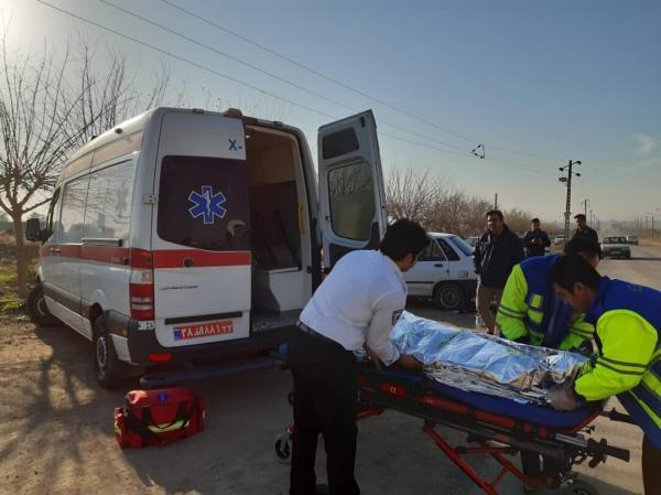 واژگونی مینیبوس در مسیر خاش- ایرانشهر ۱۹ مصدوم برجا گذاشت