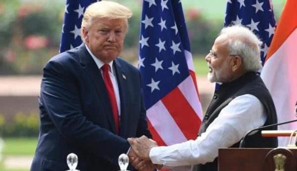 دونالد ترامپ و نارندرا مودی,اخبار سیاسی,خبرهای سیاسی,اخبار بین الملل
