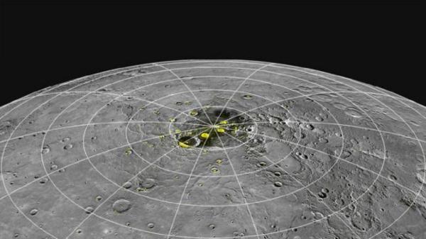 یخ روی نزدیکترین سیاره به خورشید,اخبار علمی,خبرهای علمی,نجوم و فضا