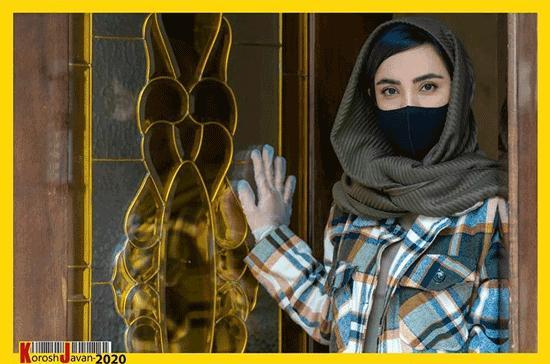 تصاویر هنرمندان و ژستهای مبارزه با کرونا,عکس های بازیگران با ژست کرونا,تصاویر بازیگران با ماسک