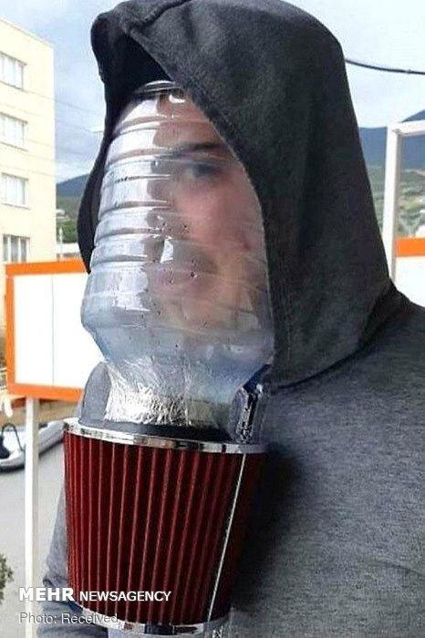 تصاویر ماسک های عجیب و غریب,عکس های ماسک های جالب,تصاویر ماسک در برابر کرونا