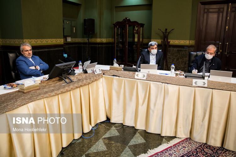 تصاویر اولین جلسه هیات دولت در سال 99,عکس های جلسه هیات دولت در 4 فروردین,تصاویر جلسه هیات دولت در مورد کرونا