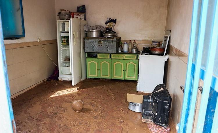 تصاویر خسارات سیل در روستای کرمان,عکس های خسارات سیل در روستای کرمان,تصاویر روستای کرمان