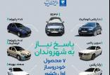 تصاویر جدید محصولات ایران خودرو