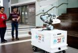 ساخت ربات ضدعفونیکننده با سرعت بالا,اخبار علمی,خبرهای علمی,اختراعات و پژوهش