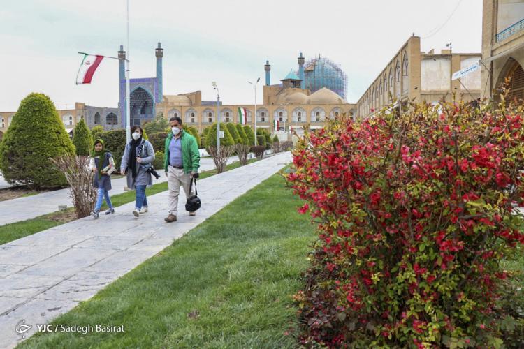 تصاویر بهار 99 در اصفهان,عکس های نوروز 99 اصفهان,تصاویری از شهر اصفهان در عید نوروز 99