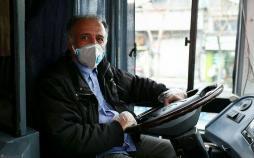 استفاده از ماسک توسط رانندگان اتوبوس در تهران,اخبار اجتماعی,خبرهای اجتماعی,شهر و روستا