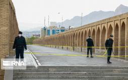 تصاویر رزمایش سراسری دفاع بیولوژیک و عملیات پاکسازی محیطی در اصفهان,عکس های رزمایش دفاع بیولوژیک در اصفهان,تصاویر رزمایش مقابله با کرونا در اصفهان