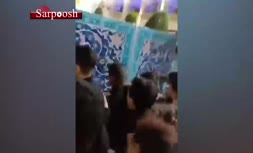 فیلم/ اعتراض مردم مشهد به بسته شدن حرم امام رضا (ع)