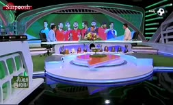 فیلم/ واکنش تند هادی طباطبایی به اظهارات آریا عظیمی نژاد و توضیح در مورد حواشی برنامه نوروز فوتبالی