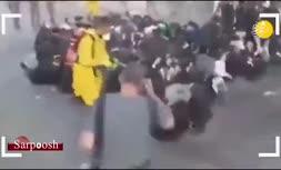 فیلم/ ضدعفونی کردن خاخامها پس از بی توجهی به هشدارهای بهداشتی