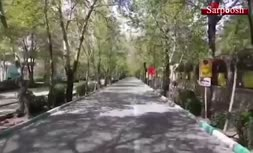 فیلم/ اصفهان در سکوت کامل ۱۳بدری!
