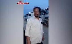 فیلم/ رانندگان ترانزیت ایرانی: عراقیها کتکمان میزنند