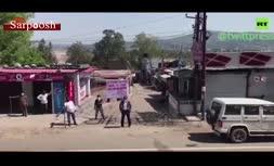 فیلم/ شیوه عجیب روستائیان هندی برای مقابله با کرونا