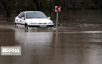 تصاویر آبگرفتگی معابر آستارا,عکس های شرایط بحرانی در استارا,تصاویر سیلاب در آستارا