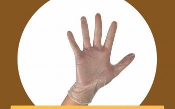 اینفوگرافیک در مورد کارایی انواع دستکش در برابر کرونا