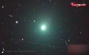 فیلم/ دنبالهدار تازه کشفشدهی اطلس پرنور و پرنور تر میشود! 