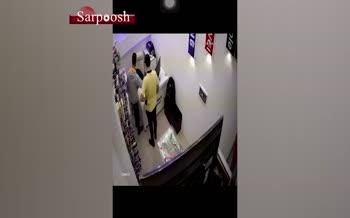 فیلم/ مرگ تلخ موبایل فروش؛ سارقان شاهرگ فرشاد را زدند