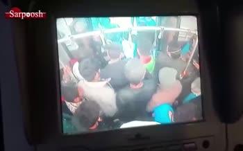 فیلم/ وضعیت اسفناک جابجایی مسافران اتوبوس در این روزها