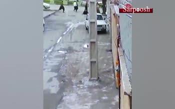 فیلم/ فرار دستهجمعی زندانیان در سقز