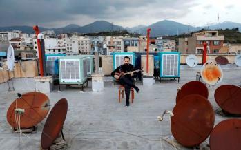 تصاویر نوازنده ها در روزهای کرونایی,عکس های هنرمندان,تصاویر شرایط هنرمندان بعد از کرونا