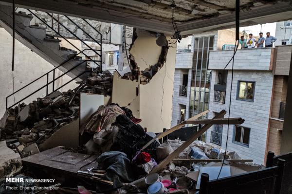 انفجار آپارتمان در تهران,اخبار حوادث,خبرهای حوادث,حوادث امروز