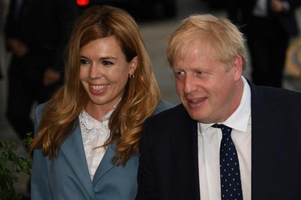 بوریس جانسون و همسرش,اخبار سیاسی,خبرهای سیاسی,سیاست