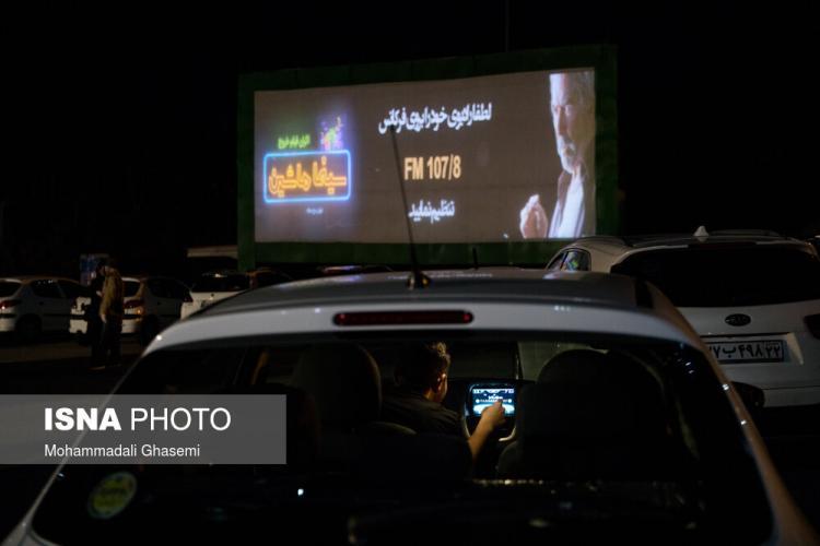 تصاویر سینما ماشین در برج میلاد تهران,عکس سینما ماشین,تصاویری از سینما ماشین در ایران