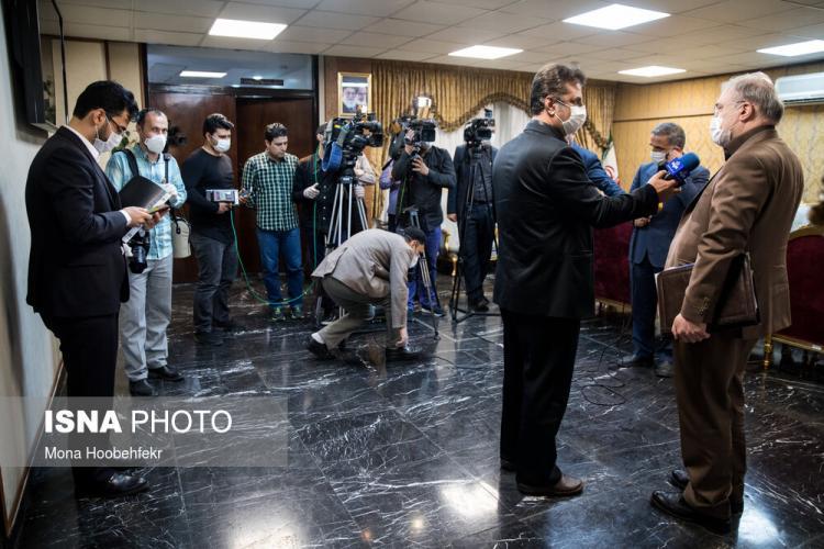 تصاویر جلسه هیات دولت,عکس های جلسه هیات دولت در 24 اردیبهشت 99,عکس حسین مدرس خیابانی در جلسه هیات دولت