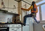 تمرینات کوهنوردان در آشپزخانه,اخبار ورزشی,خبرهای ورزشی,ورزش