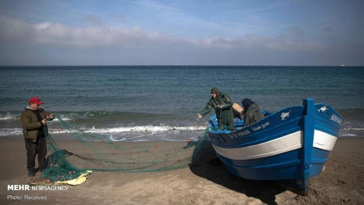 تصاویر زنان ماهیگیر مراکش,عکس های ماهگیری زنان,تصاویر ماهیگیری زنان در مراکش