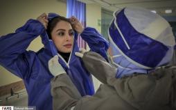 تصاویر پرستاران در خط مقدم مبارزه با کرونا,ویدیو پرستاران در جنگ با کرونا,عکس مریم پرستار همدانی