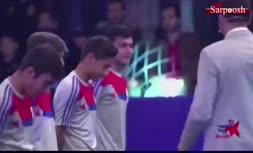 تصاویر تلخ مجتبی جباری از بازیکن جوان مسابقه ستاره ساز که با کرونا درگذشت
