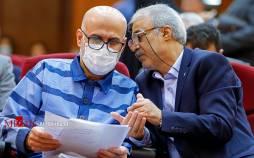 تصاویر دومین جلسه رسیدگی به اتهامات اکبر طبری,عکس های دادگاه اکبر طبری,تصاویری از دادگاه اکبر طبری
