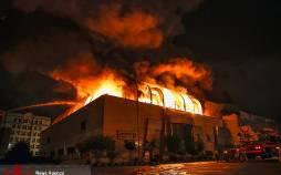 تصاویر آتش سوزی مجتمع تجاری زیتون,عکس های آتش گرفتن مجتمع زیتون,تصاویر مجتمع تجاری زیتون بعد از آتش سوزی
