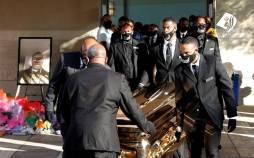 تصاویر مراسم خاکسپاری جورج فلوید در آمریکا,عکس های مراسم خاکسپاری جورج فلوید,تصاویر مراسم یادبود جورج فلوید
