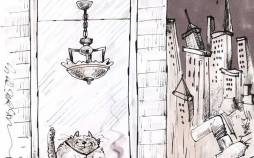 کاریکاتور در مورد فاصله طبقاتی در جامعه کرونازده,کاریکاتور,عکس کاریکاتور,کاریکاتور اجتماعی
