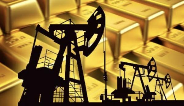 افزایش قیمت طلا و کاهش قیمت نفت,اخبار اقتصادی,خبرهای اقتصادی,نفت و انرژی