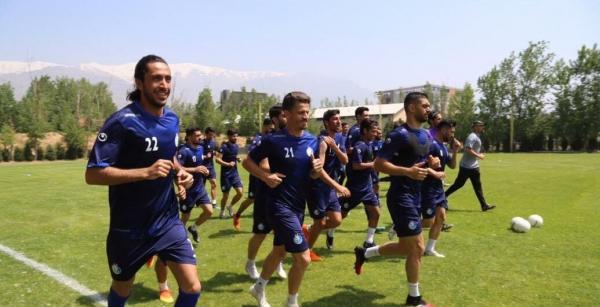 تیم فوتبال استقلال تمرینات,اخبار فوتبال,خبرهای فوتبال,لیگ برتر و جام حذفی