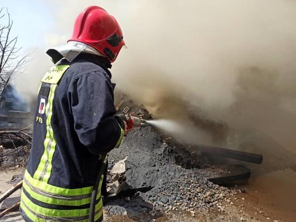 آتش سوزی در پالایشگاه تهران و شرکت فولاد خوزستان,کار و کارگر,اخبار کار و کارگر,حوادث کار