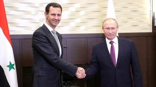 ولادیمیر پوتین و بشار اسد,اخبار سیاسی,خبرهای سیاسی,خاورمیانه